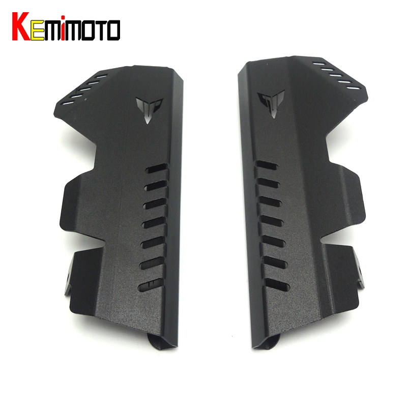 KEMiMOTO MT-07 MT07 FZ 07 Radiator Grille Side Cover Guard Protector For Yamaha MT 07 FZ07 FZ-07 2013 2014 2015 2016 for yamaha mt07 mt 07 2014 2015 engine radiator bezel grille protector grill guard cover protection black motorcycle accessories