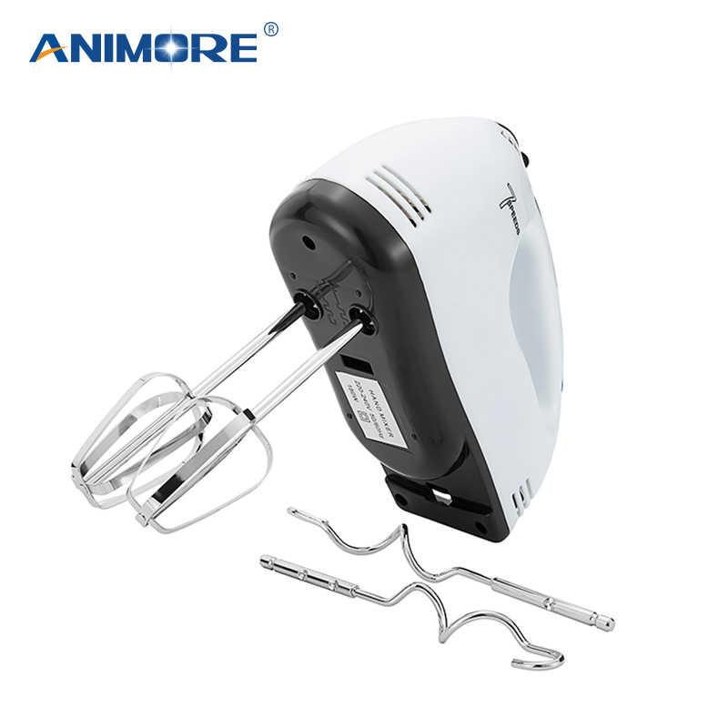 7 ANIMORE Manual Mini Liquidificador Velocidade Massa Misturador Da Mão Liquidificador Processador de Alimentos Multifuncional Misturador Da Cozinha Elétrica FM-02