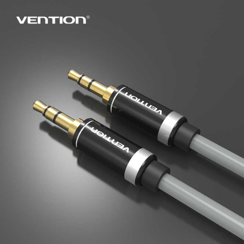 P460AC серийный Vention 0,5 ~ 2 метра AUX аудио 3,5 мм штекер до 3,5 Мужской позолоченный кабель для автомобильный ПК планшет MP3 сотовый телефон