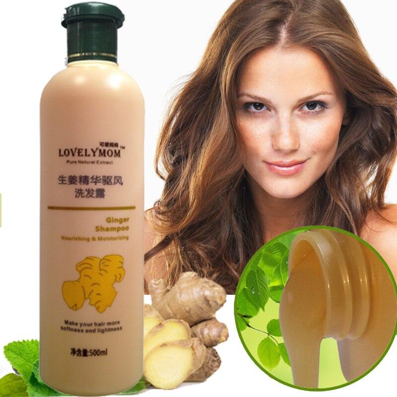 Champú para el cabello de jengibre Tratamiento profesional para el cabello y el cuero cabelludo Crecimiento del cabello sano Suavización contra la pérdida de cabello Envío gratis