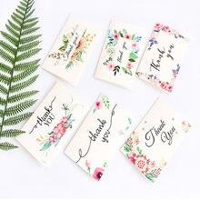 1 упак/лот Красивая Цветочная Серия открыток с конвертом набор