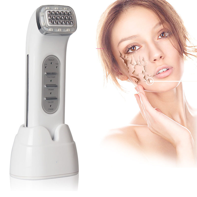 Dot Matrix RF Thermage Radio Frequency Infrared Skin Tightening Rejuvenation Anti Wrinkle Face Lifting Beauty Massager