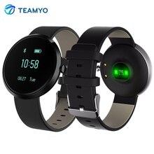 Teamyo H09 умный Браслет Приборы для измерения артериального давления Часы Heart Rate трекер Мониторы cardiaco Шагомер Смарт-браслет для iOS и Android