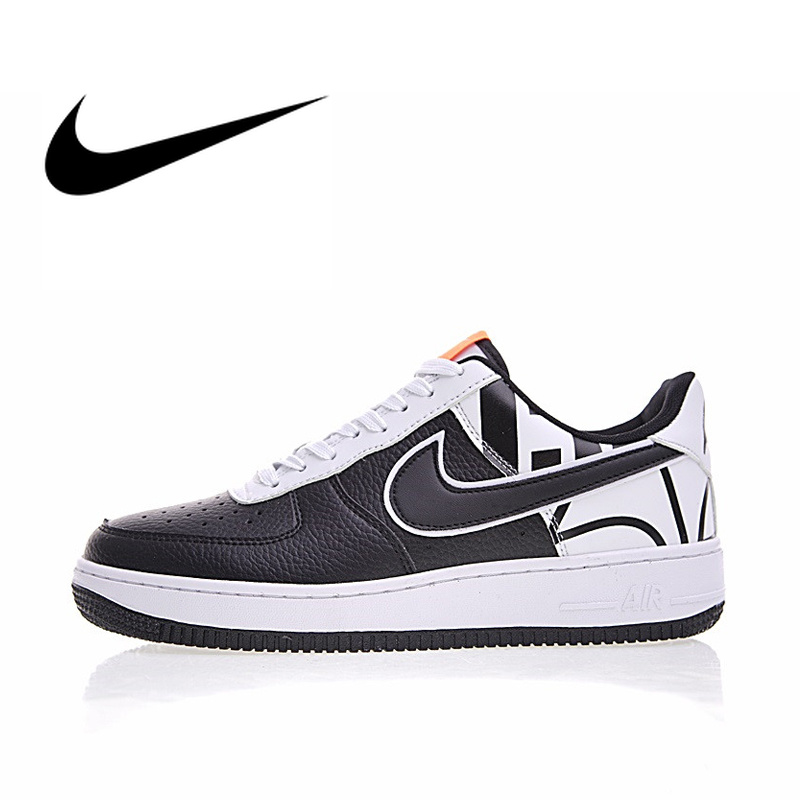 Original Authentic Nike Air Force 1 '07 LV8 Men's Breathable Skateboarding Shoes Sport Outdoor Sneakers Athletic Designer Low
