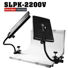 цена на Falcon Eyes SLPK-2200V folding shooting station translucidus recording studio still life table background PVC plate photo table