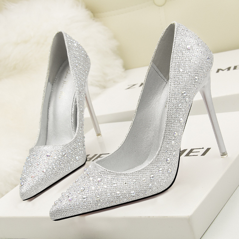 2018 Hot Women Pumps Bling High Heels Women Pumps Glitter High Heel Shoes Woman Sexy Wedding Shoes Gold Silver Big Tree Shoes new 2018 women pumps party bling high heels gold silver fashion glitter heels women shoes sexy wedding shoes