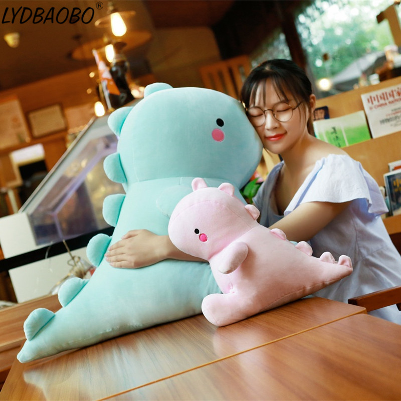 30/40/50cm New Arrive Kawaii Dinosaur Plush Dolls Kids Cute Fat Dinosaur Stuffed Toys Christmas Gifts For Children Wedding Gifts