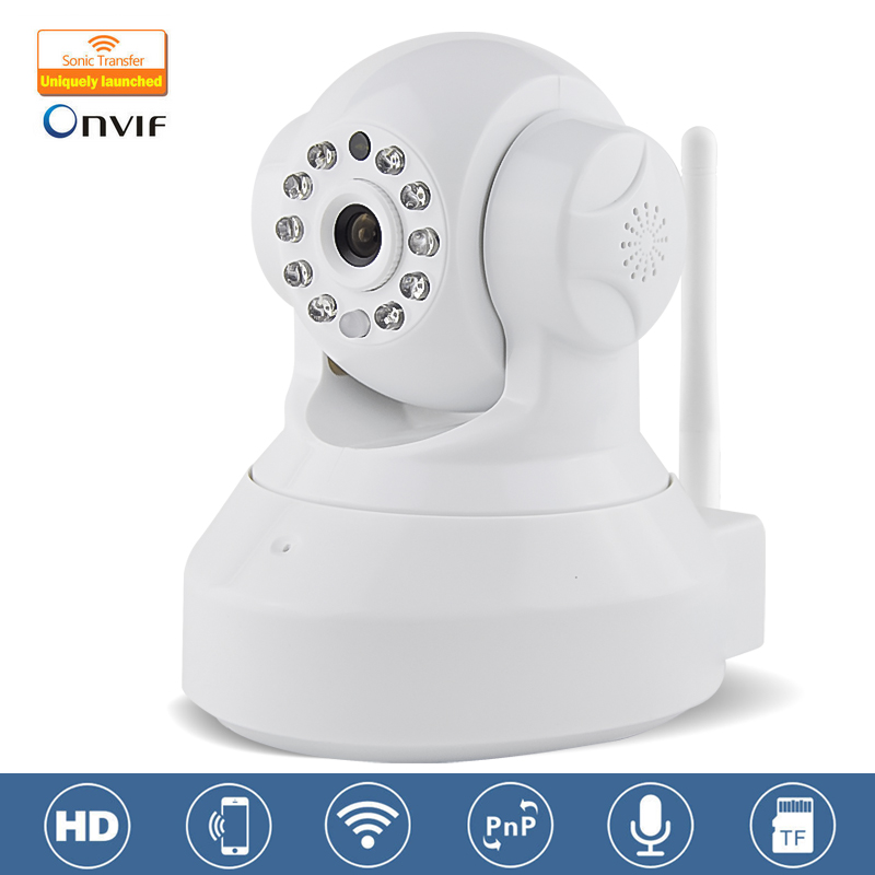 White Marlboze C7837WIP CCTV 720P Wireless IP font b Camera b font Wifi Night Vision font