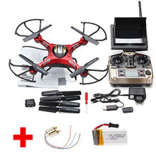 Free Shipping! JJRC H8D Real-time FPV RC Quadcopter Drone W/HD Camera + 2 Battery + 2 Motors
