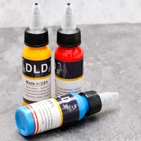 14 color tattoo ink set pigment 3D tattoo paint 1oz tattoo supply 30 ml permanent tattoo pattern