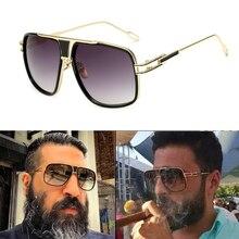 2019 Classic luxury Brand men's designer Large frame sunglasses Vintage women su