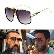 2020 gafas de sol clásicas de lujo con montura grande de diseñador para hombre, gafas de sol Vintage para mujer grandmaster UV400 para hombre y mujer