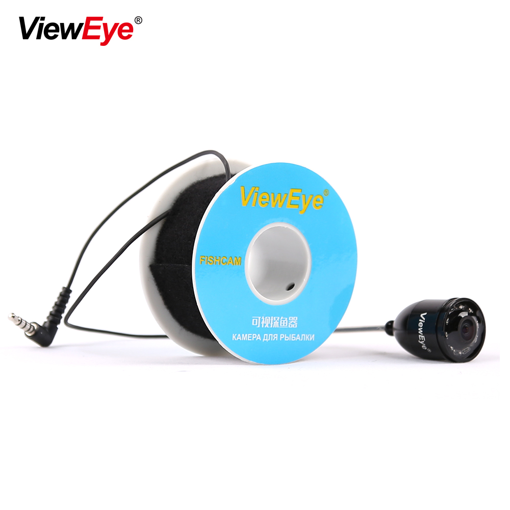 ViewEye Single Underwater Fishing Camera Accessories For 3 5 4 3 inch Fish Finder 8 IR