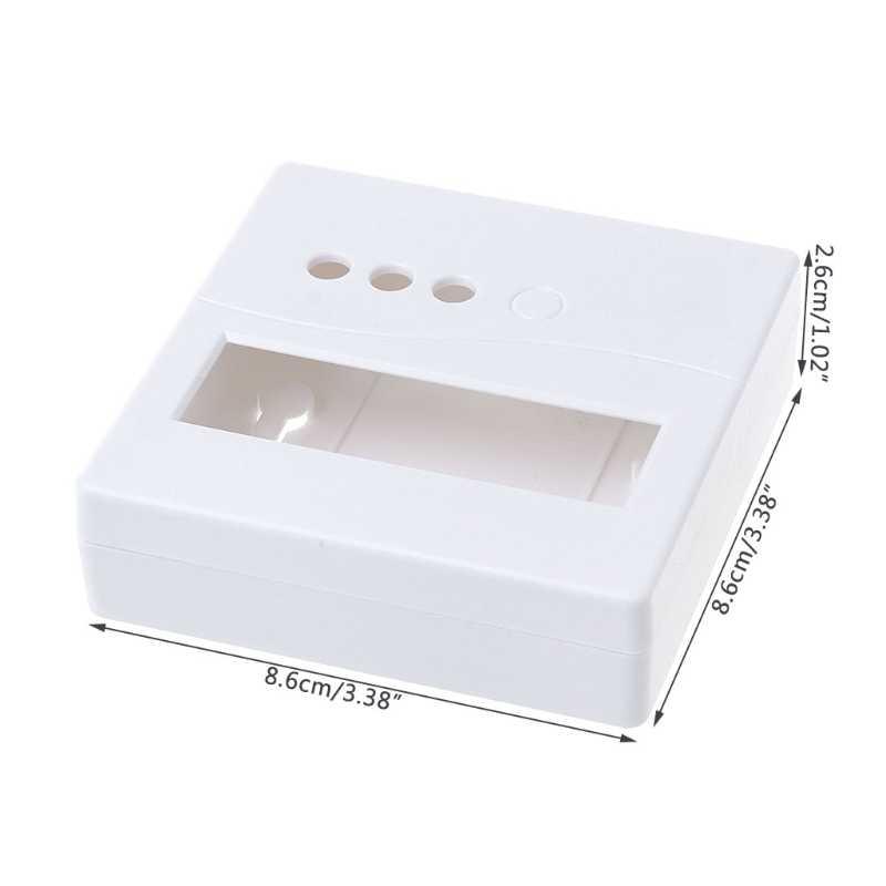 86 Scatola di plastica Progetto Recinzione per il FAI DA TE LCD1602 del Tester del tester con il Tasto