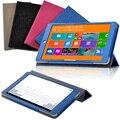 """Новая Мода Ультра Тонкий Магнитный Кожа Смарт Защитный Чехол Case Для Teclast X80H 8 """"Tablet Case"""