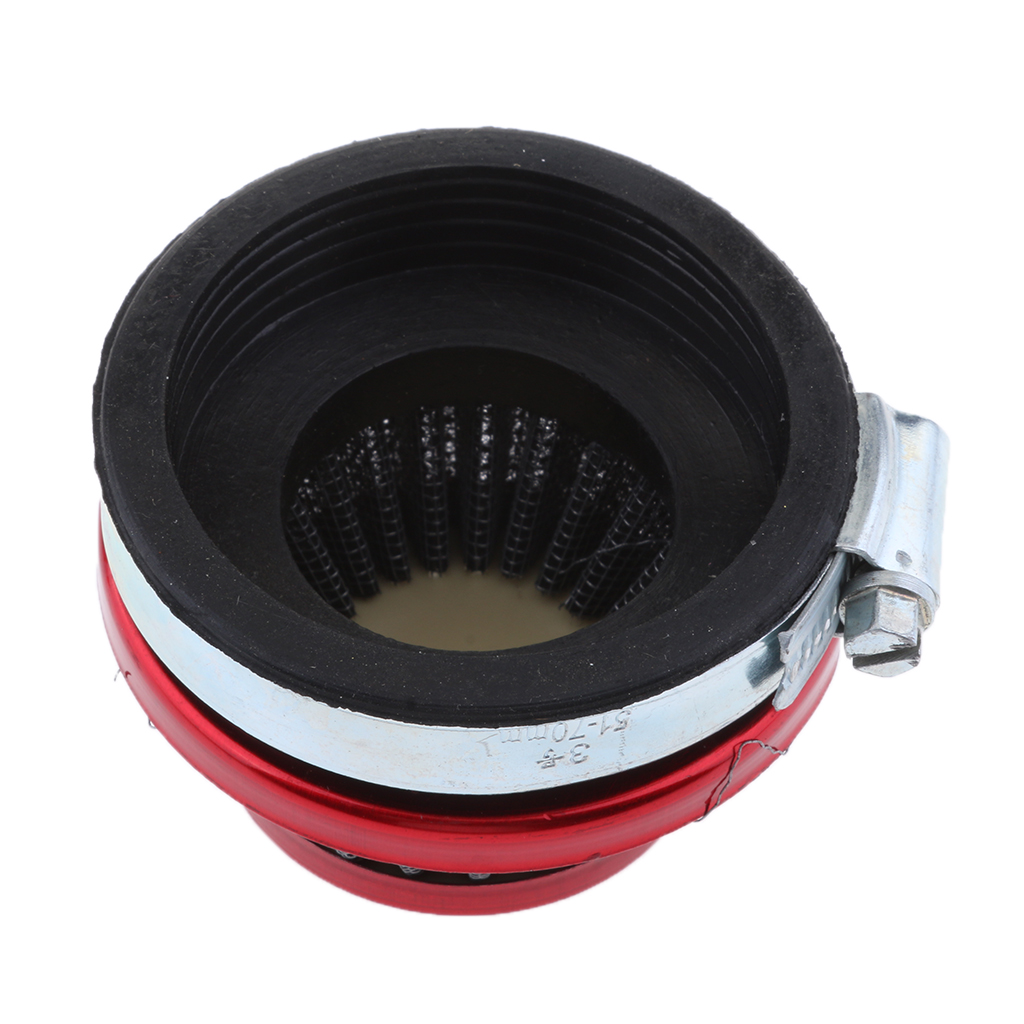 Image 4 - 1 Pcs 58mm Cone Air Filter With Rubberneck Coupler For 2.28″ Inside Opening Carburetors 49CC 80CC 2 Stroke ATV Motorcycle Etc-in ATV Parts & Accessories from Automobiles & Motorcycles