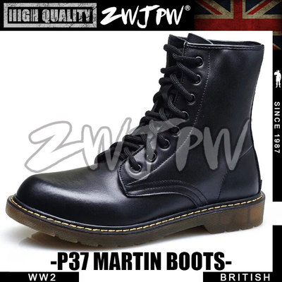 WW2 UK Army P37 Rank-and-file soldiers Martin boots High-Quality Replica-UK/105110 suck uk