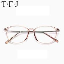 98e0cd71b5023 Mulheres moda Óculos Redondos Do Vintage Transparente Lente Homens  Ultraleves Óculos Armação de Metal Óptico Óculos Estilo Corea.