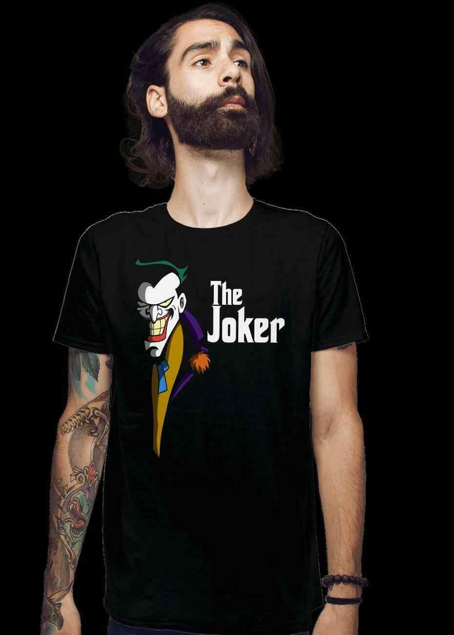 JOKEFATHER Джокер Бог-отец Смешные черные футболки летучая мышь человек Хит Леджер