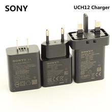 Original For SONY UCH12 USB Fast Charger Adapter 12V 1350MA For XPERIA X XA XA1 Ultra XZ XZS Compact Premium Z1 Z3 Z4 Z5 Mini