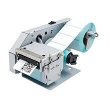 56mm Label/continu/gemarkeerd sticker papier schaal Embedded thermische Printer auto peel off, rewinder, automatische Peeling/Dunschiller