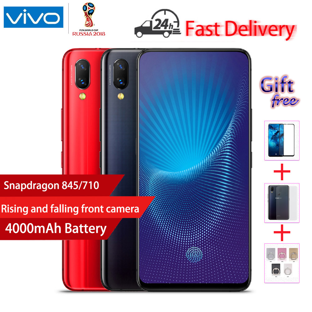 Vivo Nex Mobile Phone 6.59'' Ultra FullView Display 6/8GB RAM 128/256GB ROM Snapdragon 710/845 Octa Core Elevating Front Camera