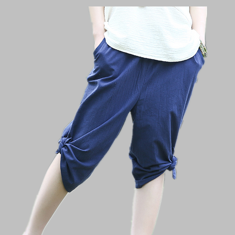 2016 New Summer Style Women Pants Linen Harem Pants Women ...