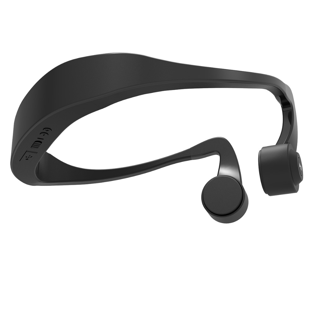 Brand New Bone Conduction Headphones Wireless Stereo earphone,Noise Cancellaction Bluetooth 4.2 Sport Headset,Open Ear Hearing brand new sealed lg tone platinum g5 hbs 1100 bluetooth stereo headset silver