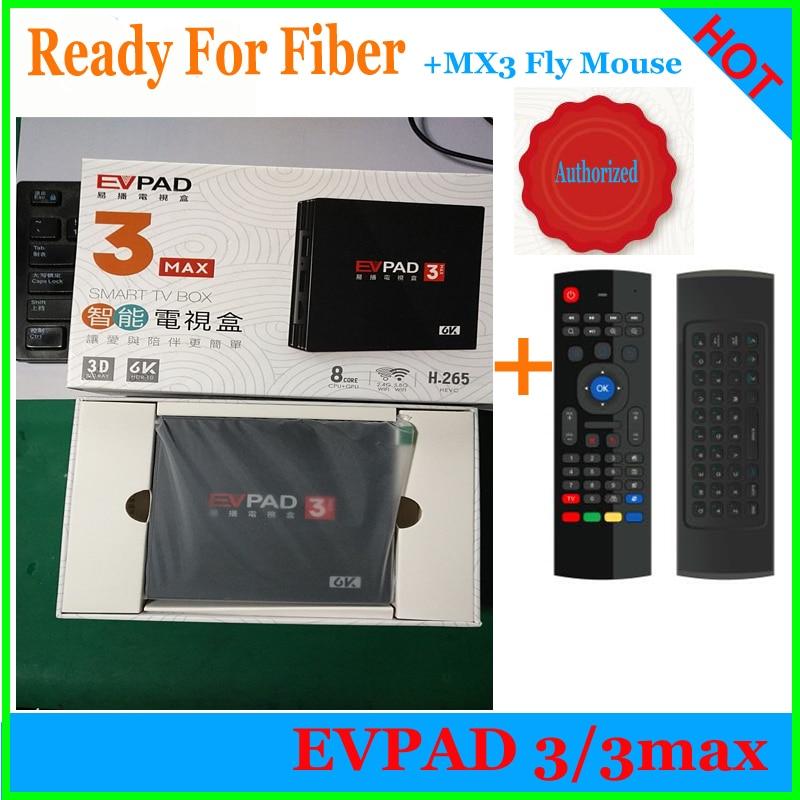 Flash Sale] New Version EVPAD3 media player IPTV lifetime