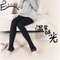 Высокая плотность жемчуг бархатные леггинсы цю дон топтать ноги утолщение теплые брюки Многоцветный джокер женщина B009