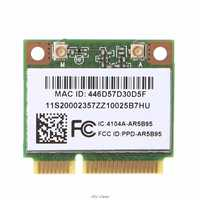 AR9285 AR5B95 tarjeta inalámbrica 802.11b/g/n Mini PCI-Express WiFi para Lenovo laptop tarjeta inalámbrica