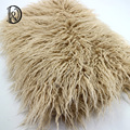 (75*50 cm) Faux Fur MONGOL FUR Cobertor Cesta Stuffer Fotografia Adereços Adereços Fotografia de Recém-nascidos