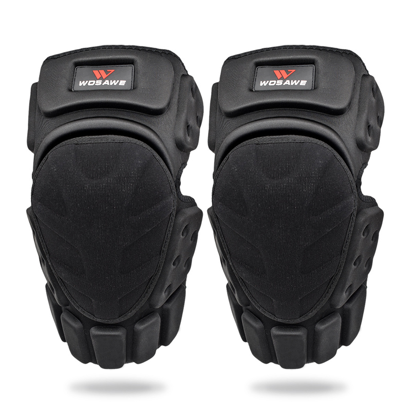 WOSAWE Breathable Flexible Knee Pad Protector Riding Ski Snowboard Tactical Skate Protective Knee Guard Motorcycle Knee Support