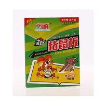 10 шт./лот доска для мыши липкая клейкая крысоловка+ приманка Высокоэффективная грызуна мышь устройство для ловли змей борьба с вредителями нетоксичные экологически чистые