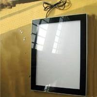 A1 Daul Side Magnetic Aluminum Advertising Led Light Boxes for Hotel, Restaurant,Retail Shops