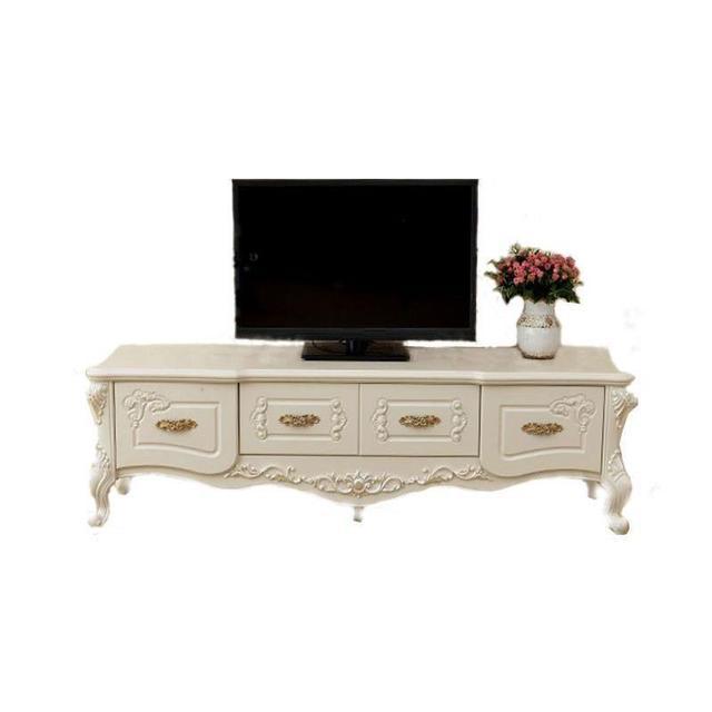 Standaard China Lcd Support Ecran Ordinateur Bureau Meja European Wodden Mueble Living Room Furniture Table Meuble Tv Cabinet
