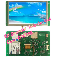 DMT80480T070_09WT T series DGUS touchscreen Starter Kit wide temperature bright screen voice LCD MODULE full kit same as photo
