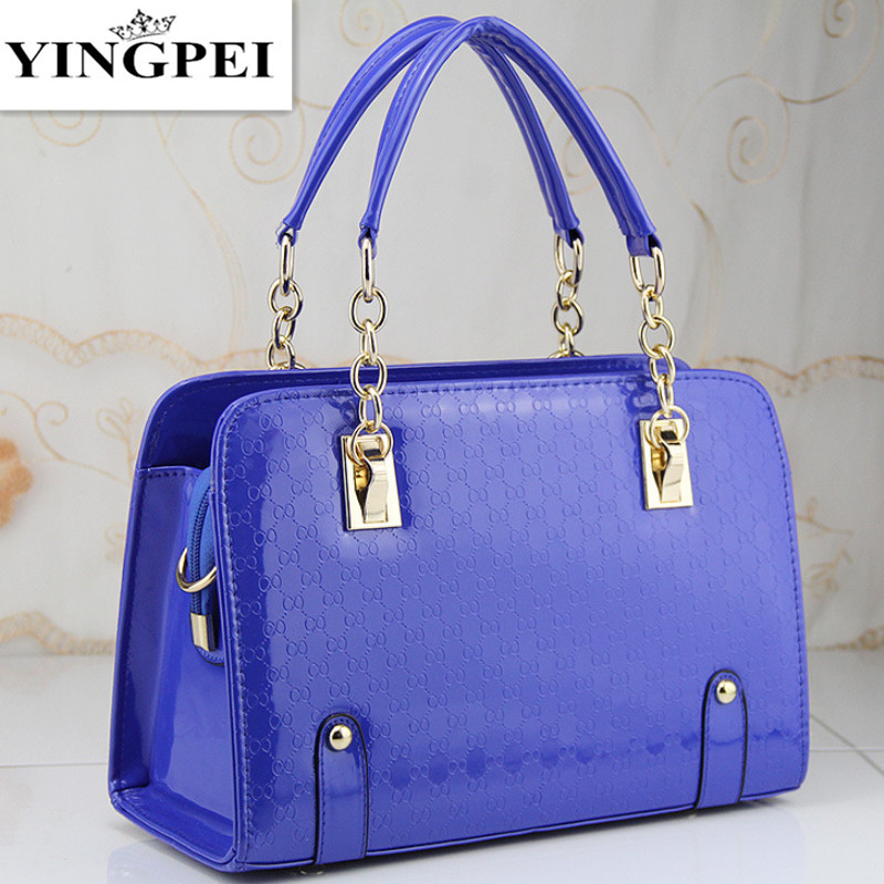 Women Bags Casual Tote Women PU Leather Handbags Fashion Shoulder Bags Women Mes