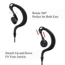 2.5mm headset with PTT MIC Walkie Talkie Earpiece for R40 Radio 115cm length earphone walkie talkie earpiece throat mic