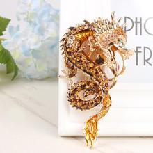 Зодиак китайский «длинный дракон» милый Хрустальный Шарм Подвеска Кошелек сумка автомобильный брелок цепочка Свадьба Вечеринка креативный подарок