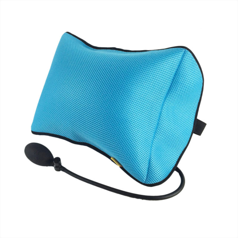 Portable Lumbar  Pillow For Car And Office Chair With Pump Massage To improve posture 2