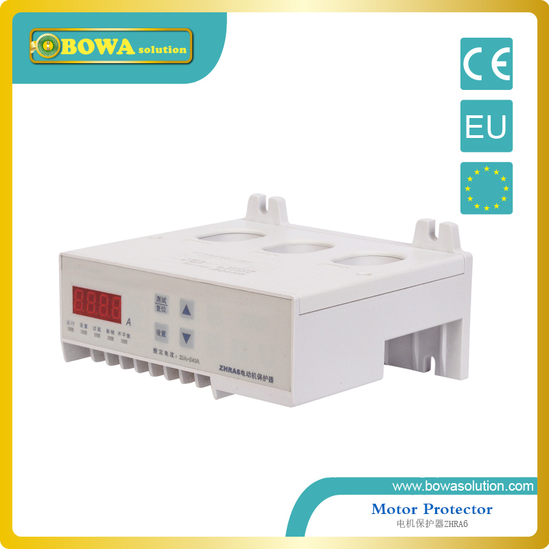 Protector for 3 phase motor ZHRA6-K5/AC220V for plastic process machine delixi motor protector jd 5 1 100a ac380v