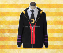 Ansatsu Kyoushitsu Japenese anime costume man and women cosplay coat Kill the teacher hoodies shirt and tie