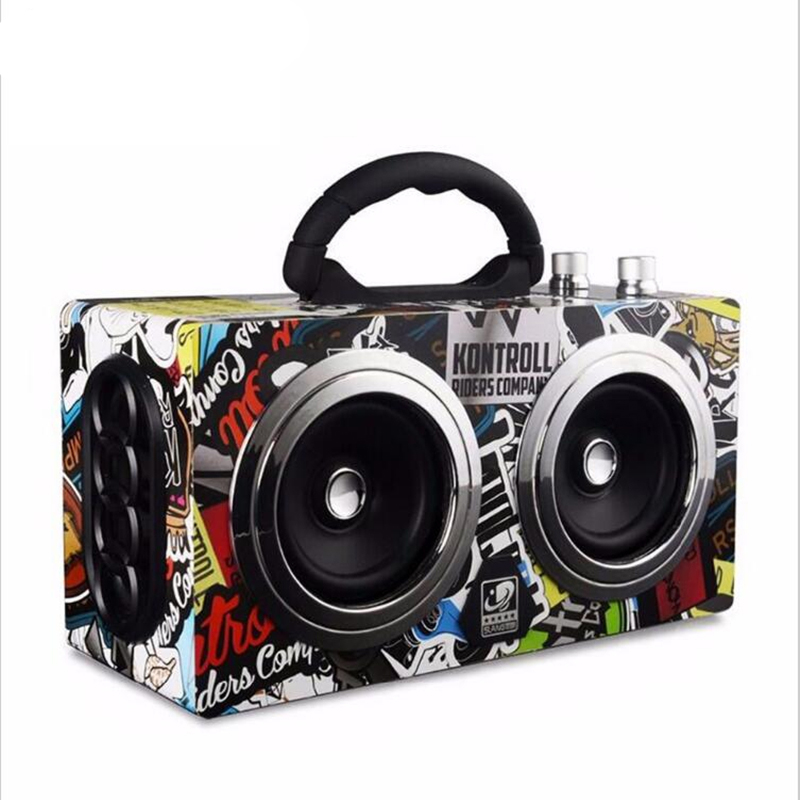 Portable Bluetooth Speaker Wireless Outdoor Stereo Bass Sound HiFi Loudspeaker 20W High Power Big Speaker with TF Card FM radio speaker bluetooth karaoke portable wireless with microphone with fm radio mp3 portable output 20w high power for party bbq