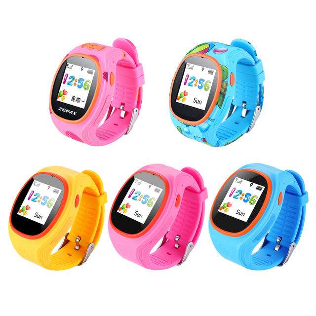 Gps Tracker Children Smart Watch Phone Child Tracking Bracelet Kids Watches Wifi Sos Call