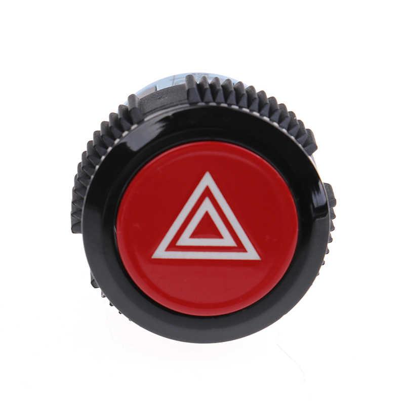 22 мм устройство переключатель автомобиля кнопка двойной проблесковый переключатель кнопка пуска 12 В/24 В с светильник самоблокирующийся Предупреждение ющий Символ Кнопка