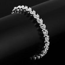 GDFSY 16.5cm Fashion Rhinestone Hand Strap Women's Girl's Bracelet Valentine's Birthday Gifts S033 цена