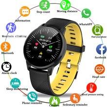 цена 2019LIGE Smart Sport Bracelet Men Women Fitness Wristband Pedometer Tracker Heart Rate Monitor IP67 Waterproof Smartwatch  Watch онлайн в 2017 году