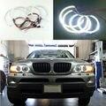 Para BMW X5 E53 1999-2004 Excelente smd led angel eyes iluminação Ultra brilhante farol led Angel Eyes de Halo kit anel
