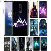 Alan Walker DJ Faded Phone Case for Oneplus 7 7Pro 6 6T Oneplus 7 Pro 6T Black Silicone Soft Case Cover